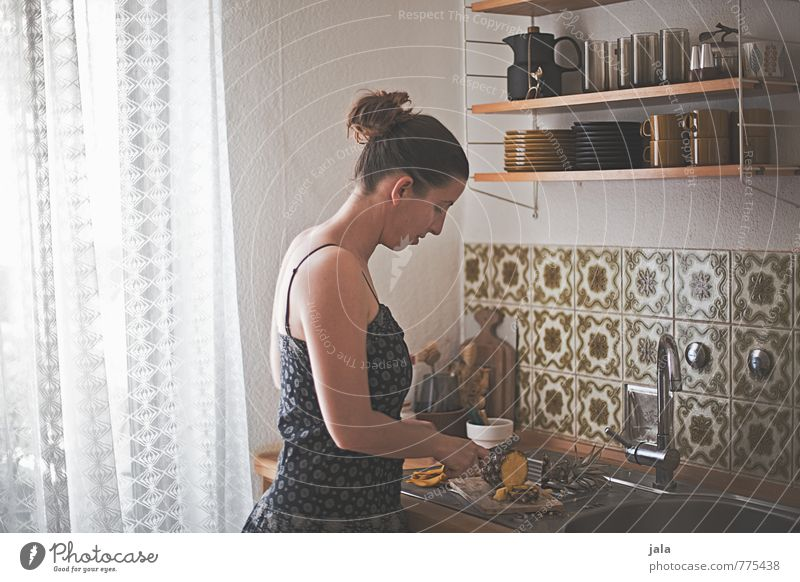 Human being Woman Adults Feminine Interior design Natural Food Work and employment Flat (apartment) Living or residing Fruit Authentic Esthetic Nutrition Dress