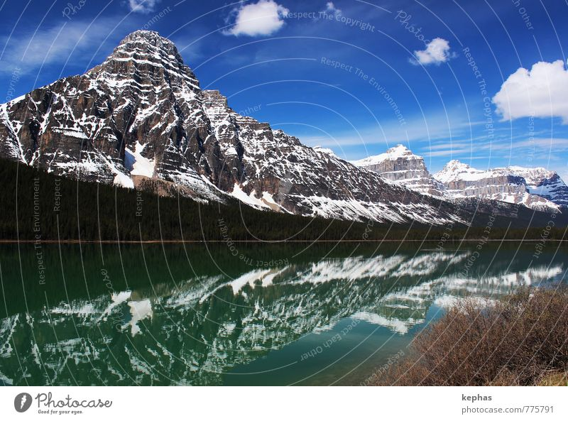 cloud signs Vacation & Travel Tourism Far-off places Mountain Nature Landscape Sky Clouds Spring Beautiful weather Rock Rocky Mountains Peak Lake Esthetic