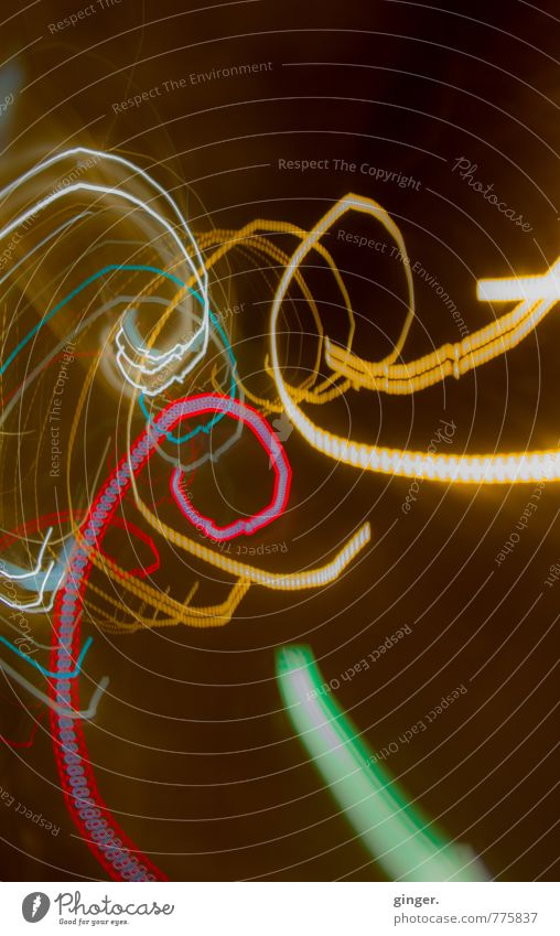 Green White Red Dark Yellow Movement Bright Happiness Spiral Whorl Visual spectacle Aspire Brilliant Trend-setting