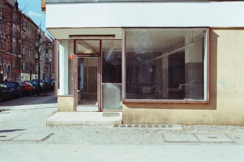 retail shop Store premises Shop window Empty Vacancy Calm Architecture