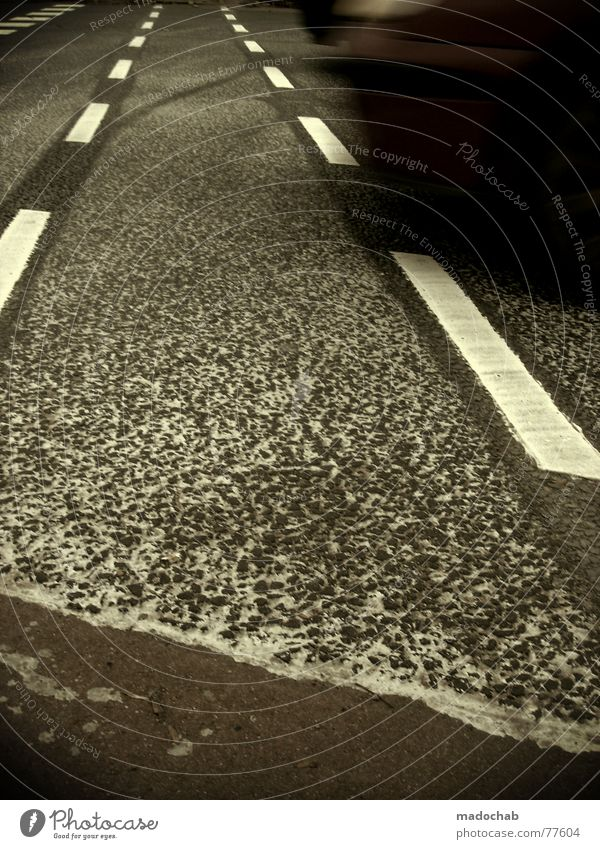 White Street Gray Movement Line Fear Background picture Signs and labeling Transport Dangerous Gloomy Floor covering Illustration Asphalt Under Square