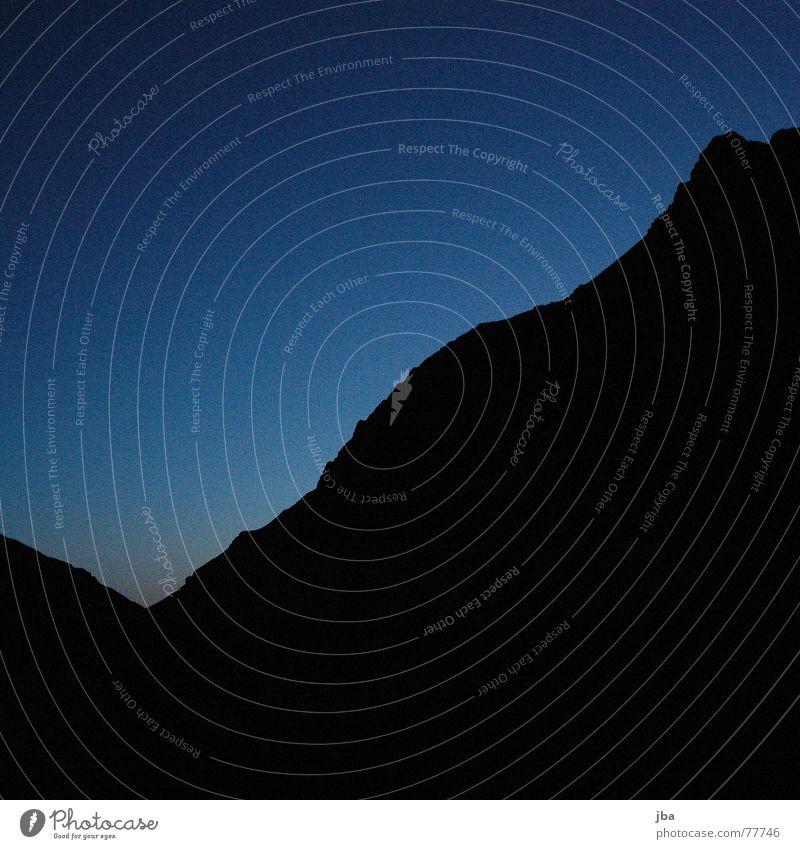Beautiful Sky Blue Black Mountain Mountaineering Arise Saanenland Geltenhorn