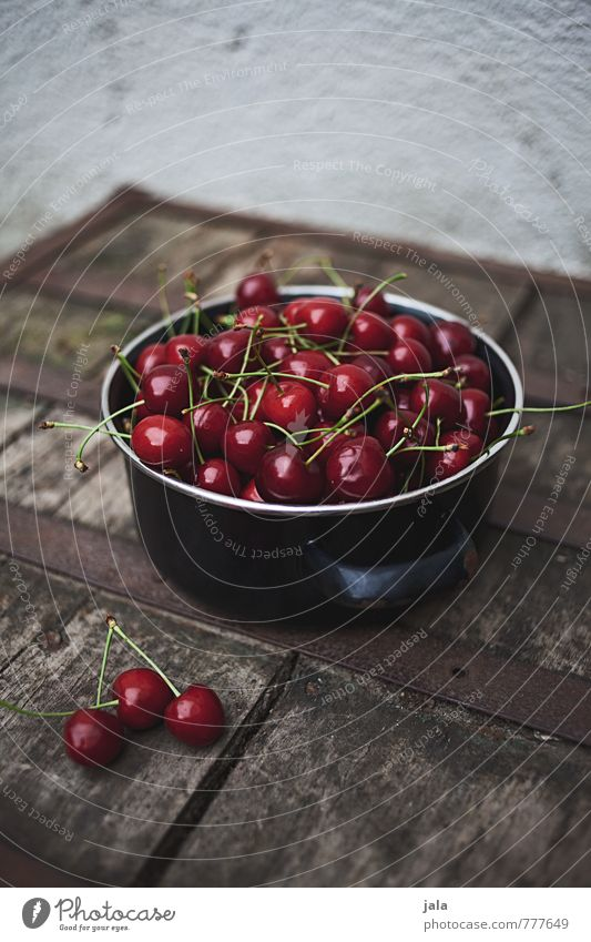 Natural Healthy Food Fruit Fresh Delicious Appetite Pot Cherry