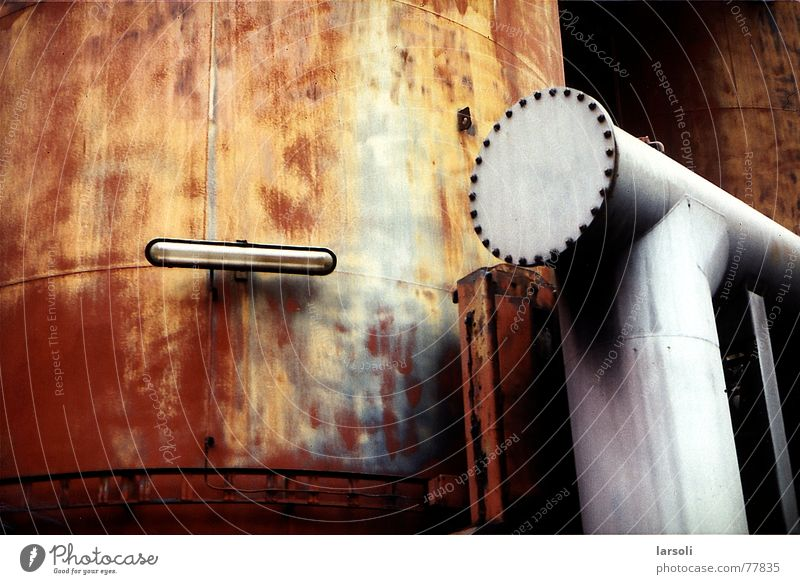 Völklingen Ironworks Rust Structural change Industrial Photography architecture tubes Metal
