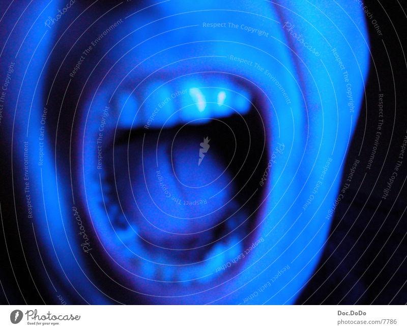 Man Blue Television