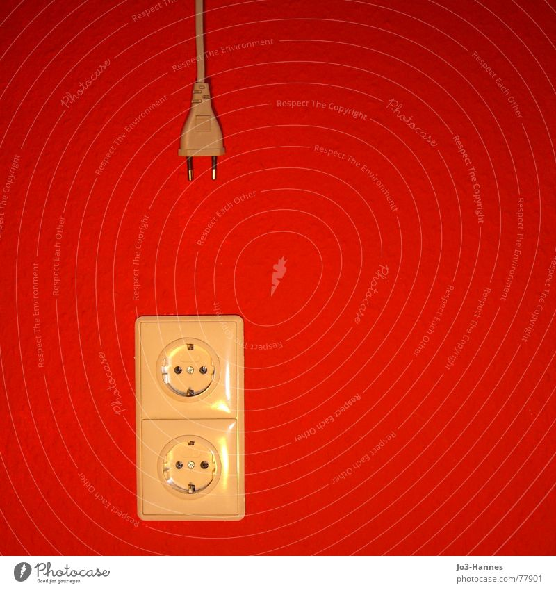Red Colour Wall (building) Wall (barrier) Electricity Cable Kitchen Contact Wallpaper Connection Infatuation Relationship Ladder Wire Transmission lines Single