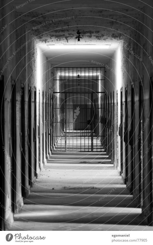 Black Fear Germany Door Derelict Historic War Captured False Hatred Penitentiary National socialism Socialism Oppressive Mass murder