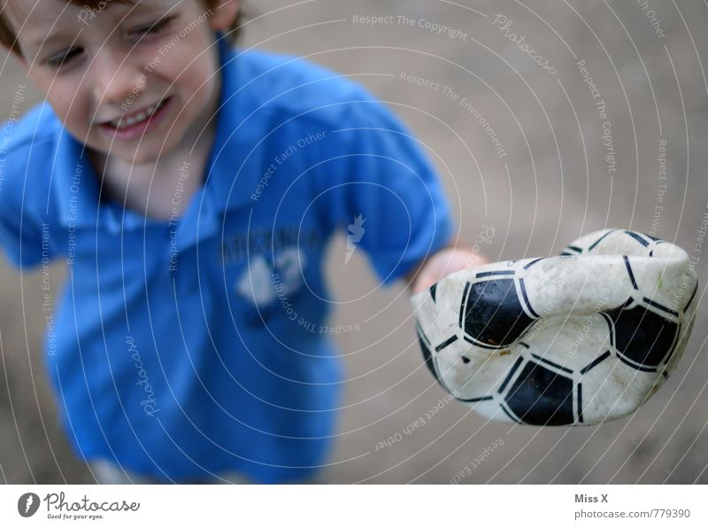 Human being Child Sadness Emotions Boy (child) Sports Playing Moody Masculine Infancy Soccer Broken Ball Pain Hollow Cry