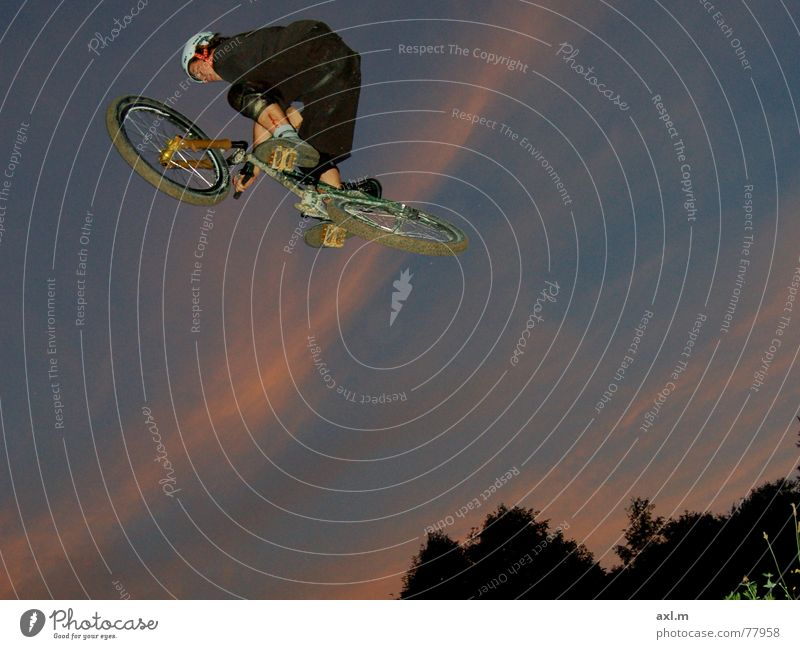 Dusk BMX bike Mountain bike Dirt Jumping