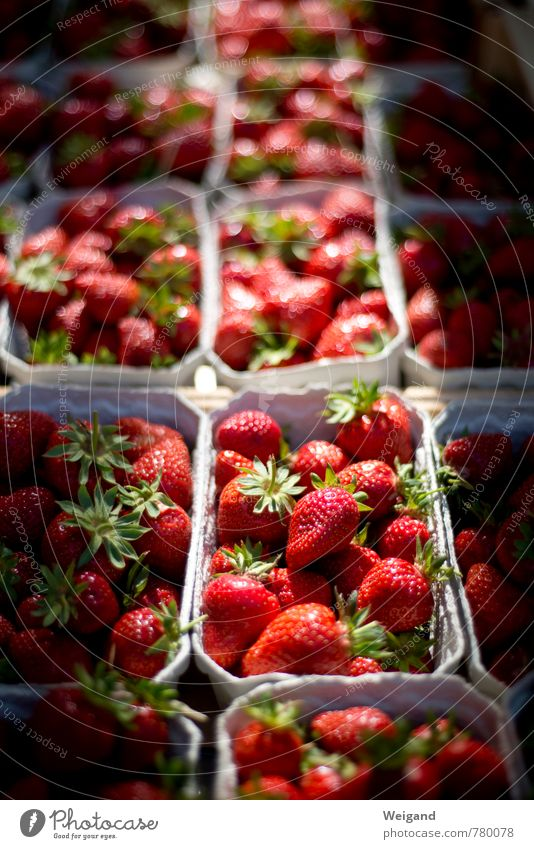 strawberry fields forever Food Fruit Fragrance Shopping Eating Red Strawberry Markets Organic produce Delicious Fruit ice cream Yoghurt Colour photo