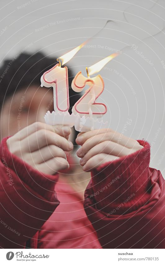 Human being Child Red Hand Girl Winter Feminine Head Infancy Fingers Blaze Digits and numbers Candle 8 - 13 years Flame Burn