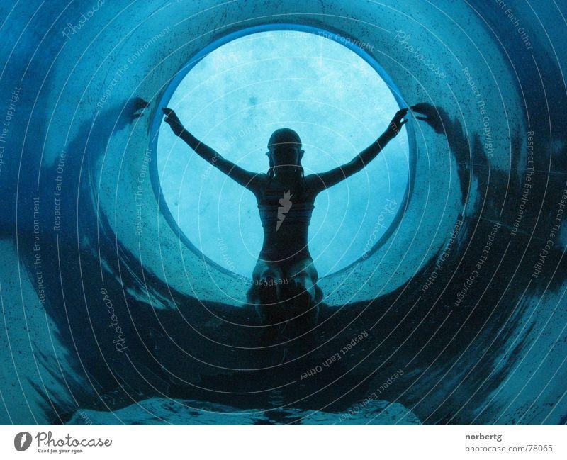 Blue Water Wet Slide Water slide Swimming & Bathing