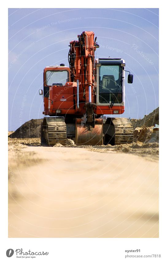 excavator Work and employment Electrical equipment Technology Construction site Gastronomy