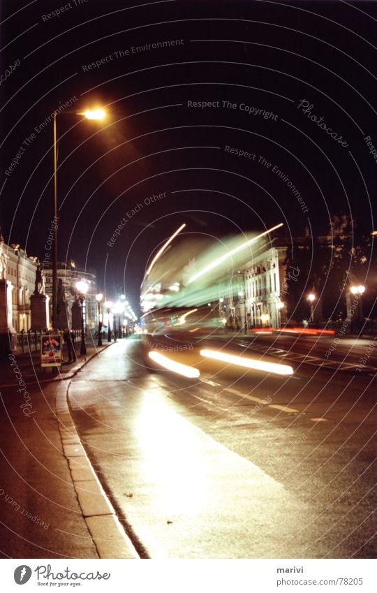 Street Lamp Berlin Movement Car Speed Bridge Driving Traffic infrastructure Bus Street lighting Curbside Unter den Linden