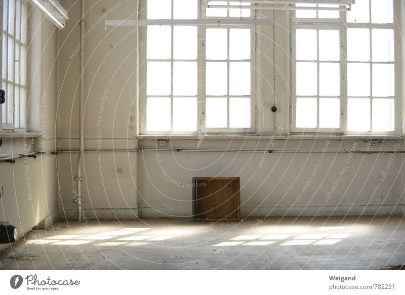 Room free Interior design Town Free space Car Window Industrial Photography Loft Office Light Creativity Colour photo Interior shot Deserted