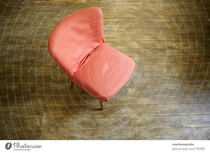 Orange Flat (apartment) Design Sit Chair Floor covering Living or residing Furniture Foyer Armchair Parquet floor Sixties