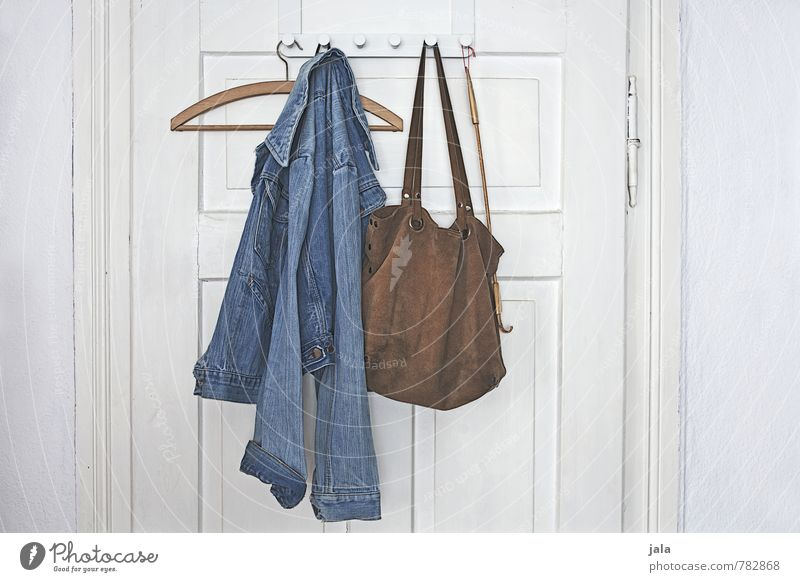 wardrobe Living or residing Flat (apartment) Interior design Room Door Clothes peg Fashion Clothing Jacket Jeans jacket Bag Hanger crusty Esthetic Authentic