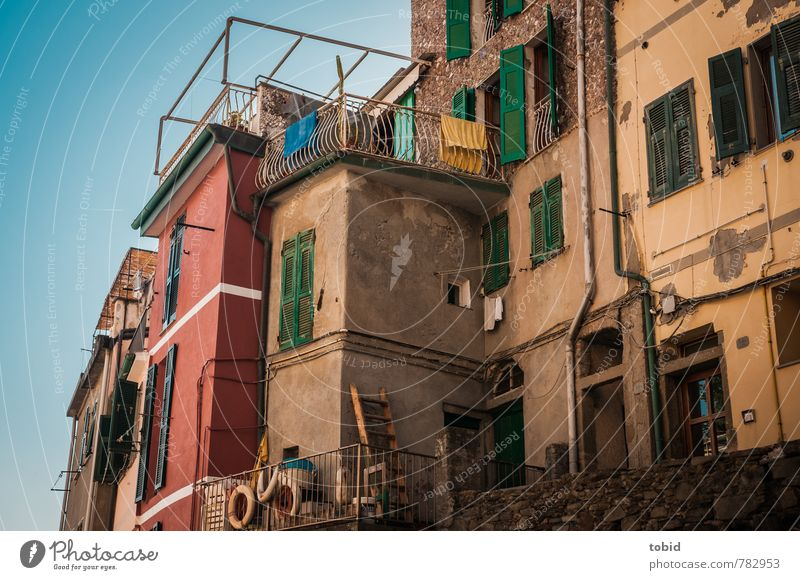 Bella Italia No.1 Vacation & Travel Tourism Sightseeing Summer Living or residing House (Residential Structure) Redecorate Cinque Terre Italy Small Town