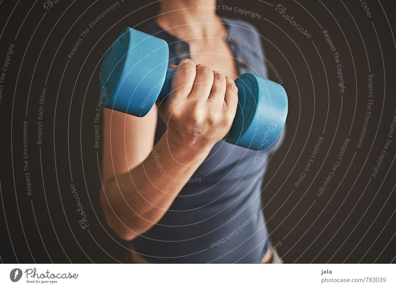 Human being Woman Hand Adults Healthy Sports Feminine Leisure and hobbies Arm Fitness Athletic 30 - 45 years Dumbbell