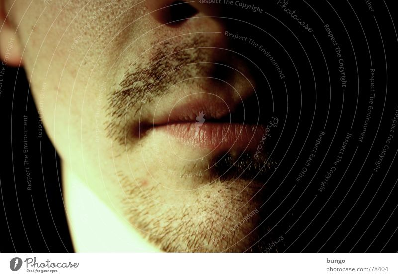 Man Beautiful Masculine Nose Lips Facial hair Neck Disgust Self portrait Old fashioned Moustache Chin Archaic Stopper Puberty
