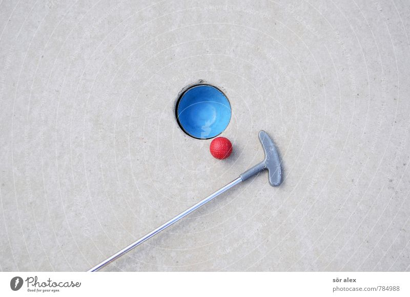 Blue Red Joy Sports Playing Gray Success Planning Target Economy Career Competition Precision Accuracy Golf club Single-minded