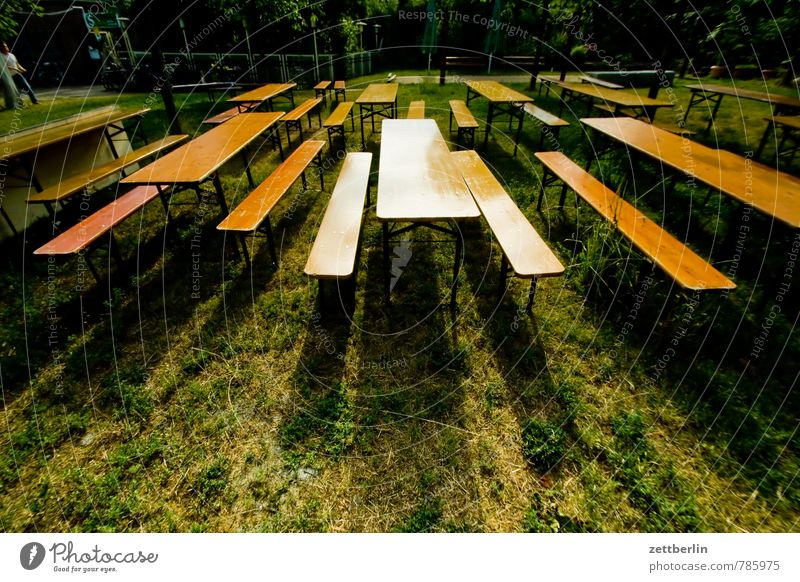 Plant Summer Garden Party Sit Free Empty Table Copy Space Chair Bench Furniture Gastronomy Row Barbecue (event) Audience