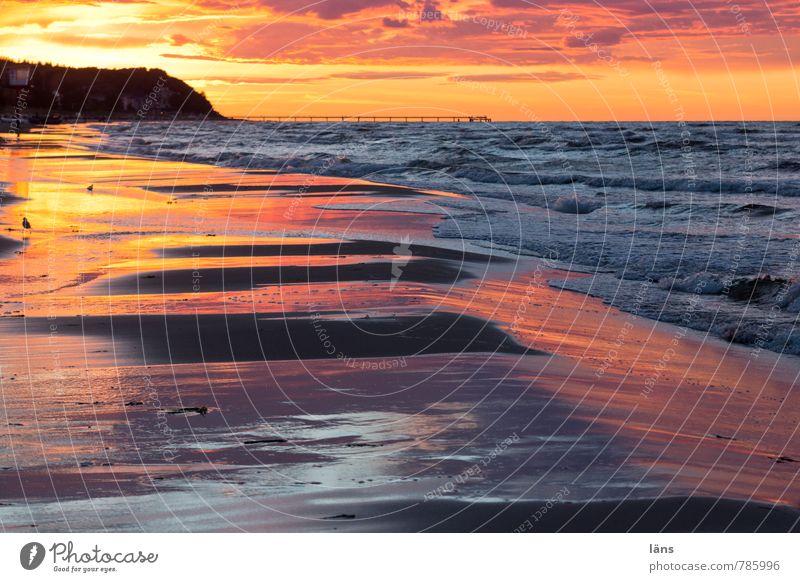 Vacation & Travel Water Summer Ocean Clouds Beach Coast Exceptional Sand Horizon Glittering Waves Tourism Island Beginning Elements