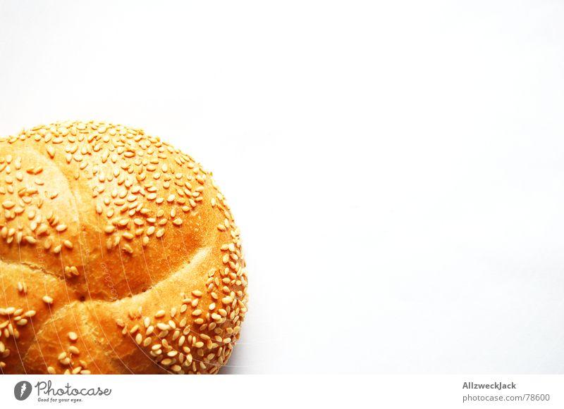 White Nutrition Bread Small Food Appetite Breakfast Baked goods Roll Grain Sesame White bread Abscond