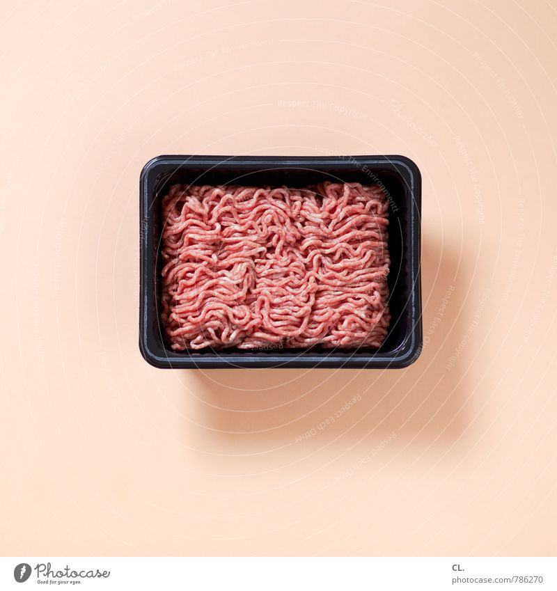 mixed Food Meat Minced meat Nutrition Eating Bowl Meat dishes Carnivore Meat scare Pork Beef Colour photo Interior shot Studio shot Deserted Day