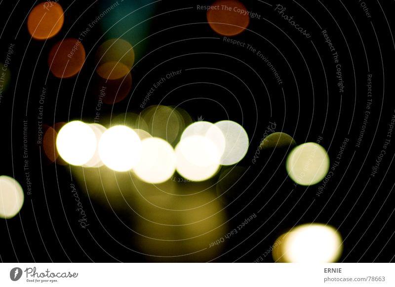 Joy Black Colour Street Life Dark Bright Circle Cologne Progress In transit Night life