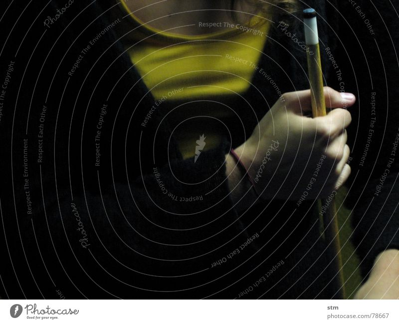 Woman Hand Dark Playing Think Room Leisure and hobbies Arm Fingers Young woman Round Mysterious Bar Toys Gastronomy Club