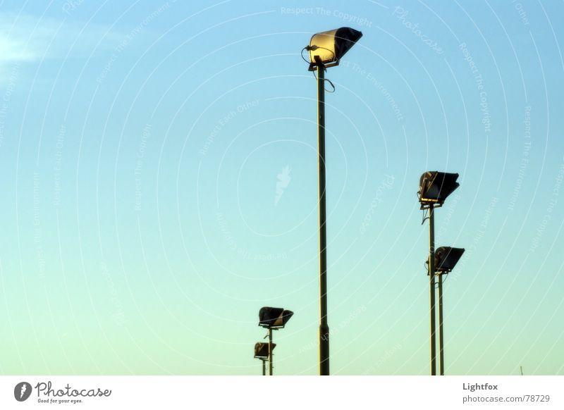 5 Floodlight Blue sky