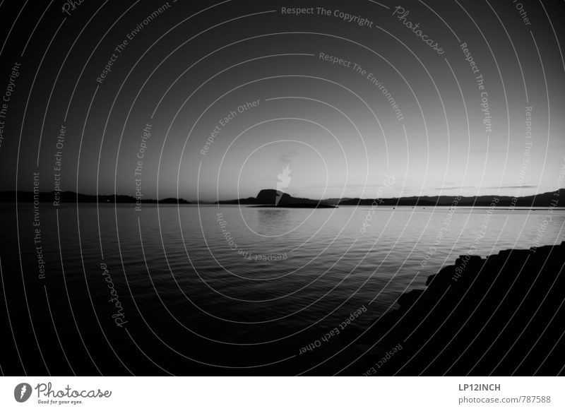 N O R W A Y - GRAy - XVI Nature Landscape Water Hill Rock Coast Lakeside River bank Norway Observe Dark Creepy Gray Dream Grief Fear Loneliness Mysterious Pure