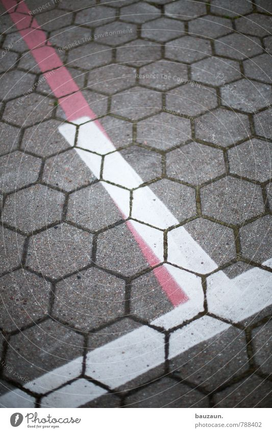 City White Red Street Lanes & trails Gray Stone Line Transport Places Signage Concrete Stripe Industry Logistics Concentrate