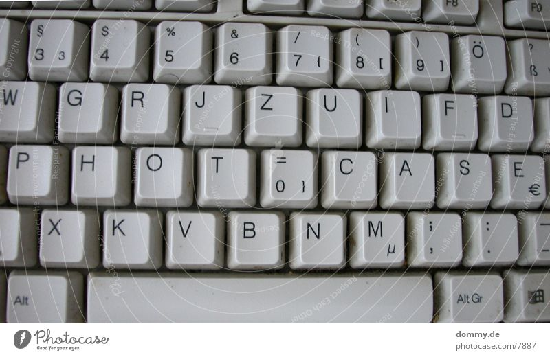 Letters (alphabet) Things Keyboard Touch