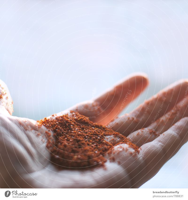 Red Hand Food Nutrition Simple Tangy Cooking & Baking Many Herbs and spices Delicious Chili Spicy