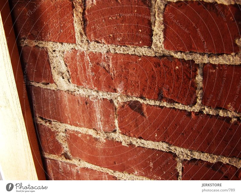 brick wall Architecture red old Wall (barrier)