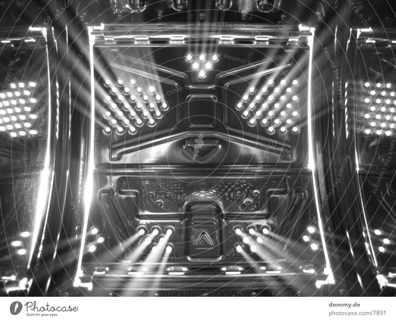 Stargate Style Long exposure Exposure Photographic technology Metal Fame Black & white photo Artificial light Beam of light Beams of light Lighting design
