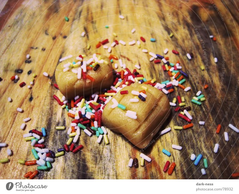 Christmas & Advent Winter Baked goods Delicious Candy Bread Roll Dough Cookie Gaudy Incomplete Granules