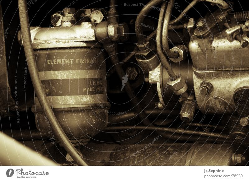 Old Metal Dirty Technology Cable Machinery Transmission lines Engines Screw Hose Mechanics Electrical equipment Oily