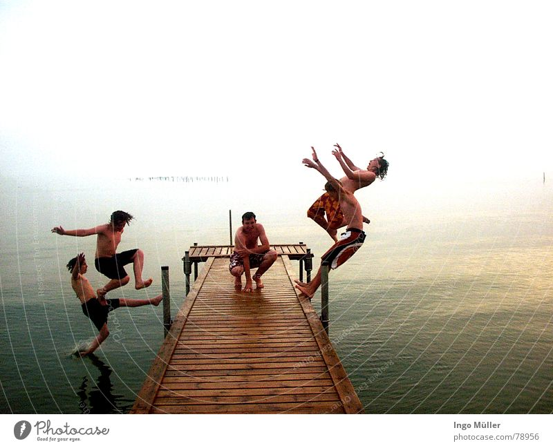 Water Ocean Movement Swimming & Bathing Wait Sit Wet To fall Dry 5 Footbridge Aquatics Crouch