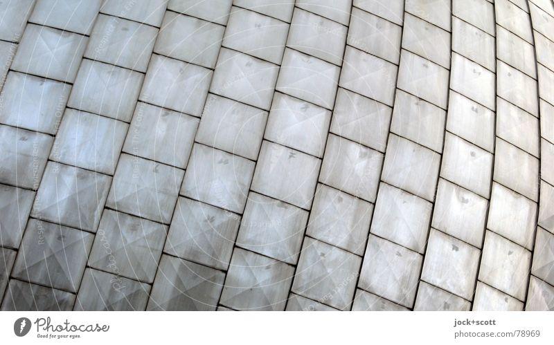 Black Architecture Line Metal Facade Glittering Together Arrangement Modern Skin Roof Safety Network Border Row Square