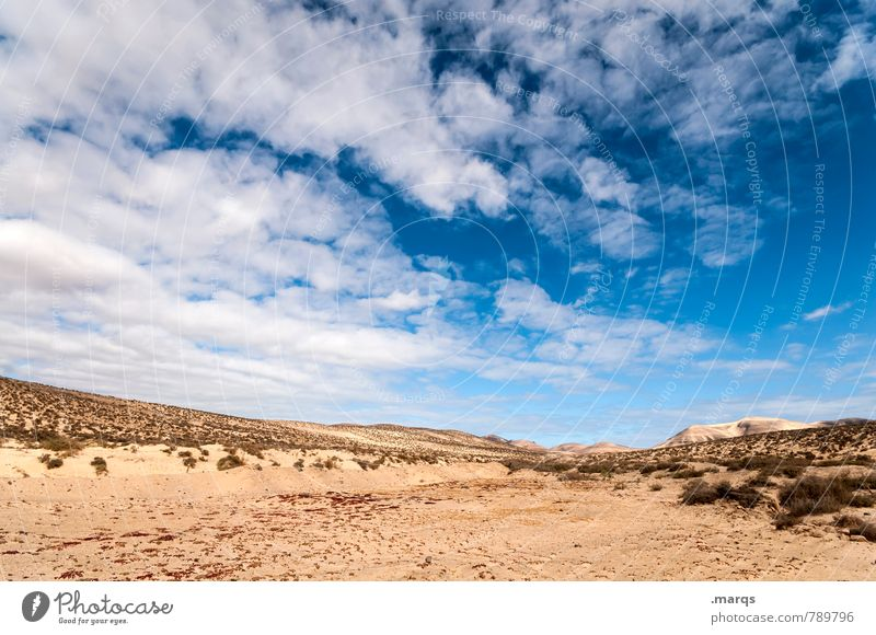 Sky Nature Vacation & Travel Summer Relaxation Landscape Clouds Environment Warmth Moody Horizon Climate Beautiful weather Adventure Dry Desert