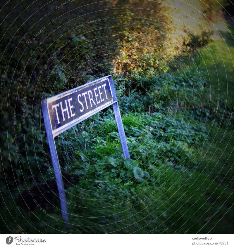 Street England Street sign Suffolk