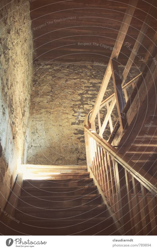 Old Wall (building) Wall (barrier) Wood Stone Going Brown Stairs Tower Staircase (Hallway) Under Banister Upward Go up Massive