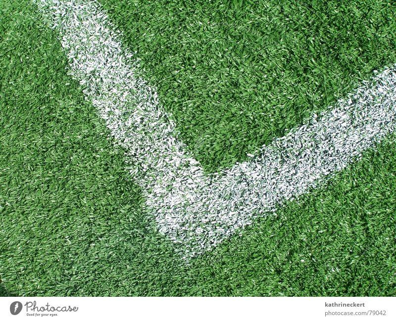 Green Sports Playing Line Soccer Corner Lawn Gate
