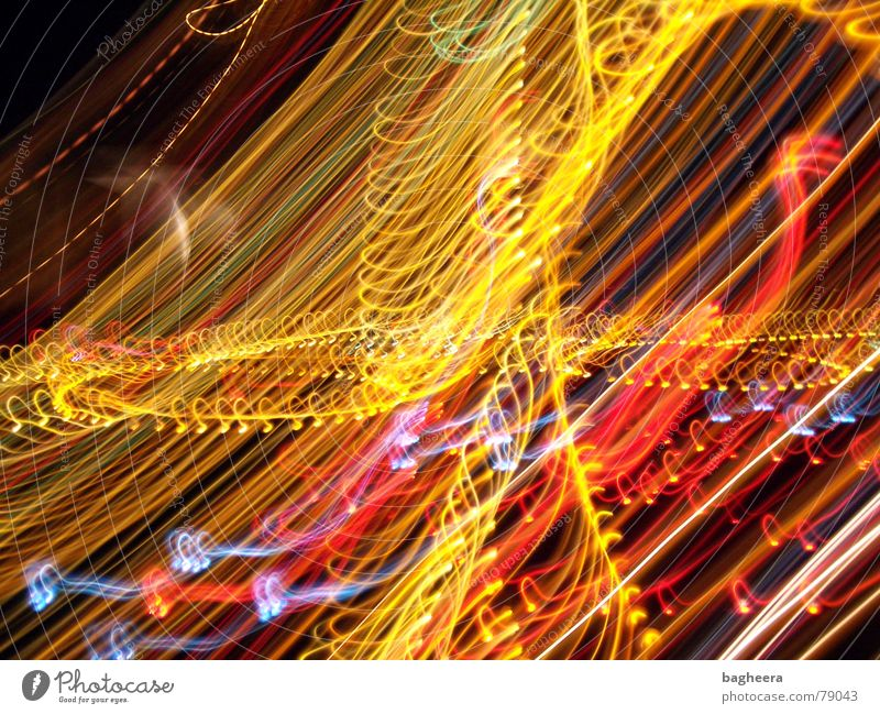 light show Muddled Line Light Curved Spiral Circle Colour dotted spirally luminous flux Multicoloured motley Reflection festival of lights
