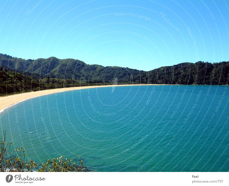 Water Sky Ocean Blue Beach Mountain Bay New Zealand