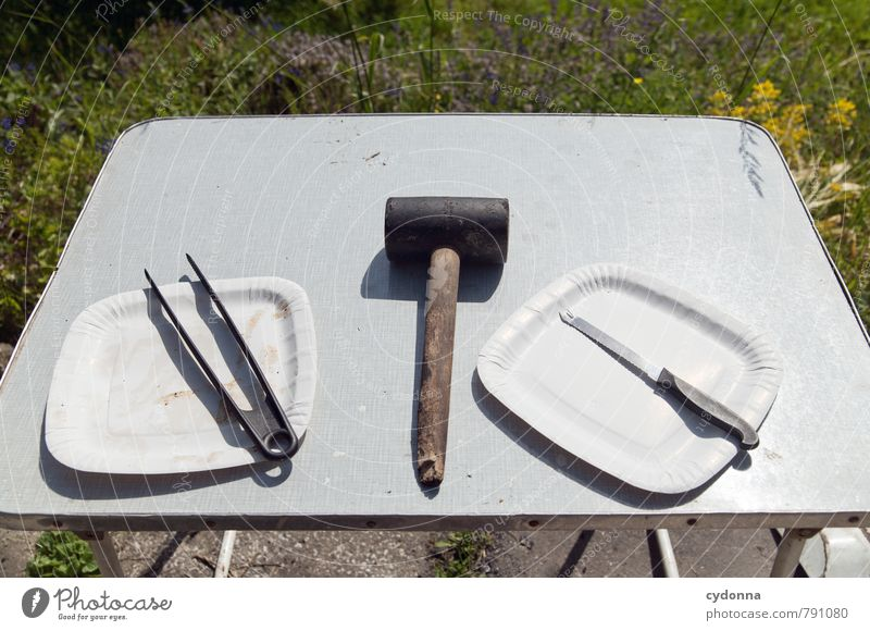 Crime scene: Grill Lifestyle Camping Garden Table Nature Summer Meadow Barbecue (apparatus) Advice Relationship Accuracy To enjoy Help Idea Uniqueness Complex