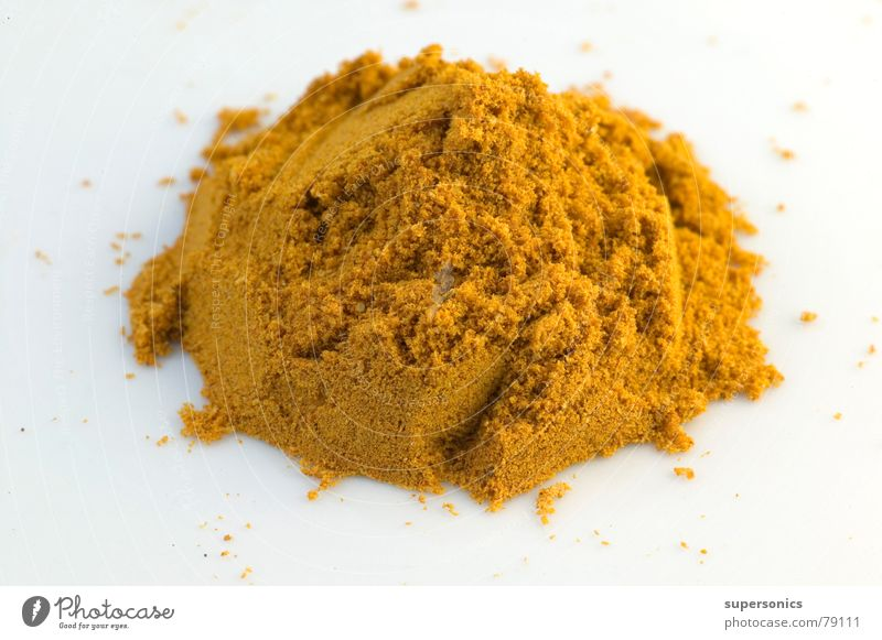 Yellow Gold Cooking & Baking Gastronomy Herbs and spices India Curry powder